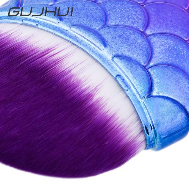 8pcs Makeup Brushes set Fondation Eyeshadow Cosmetic Tool with Leather 112