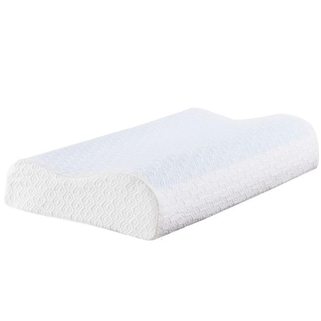 VECELO Gel Memory Foam Contour Pillows Relieve Neck Pain
