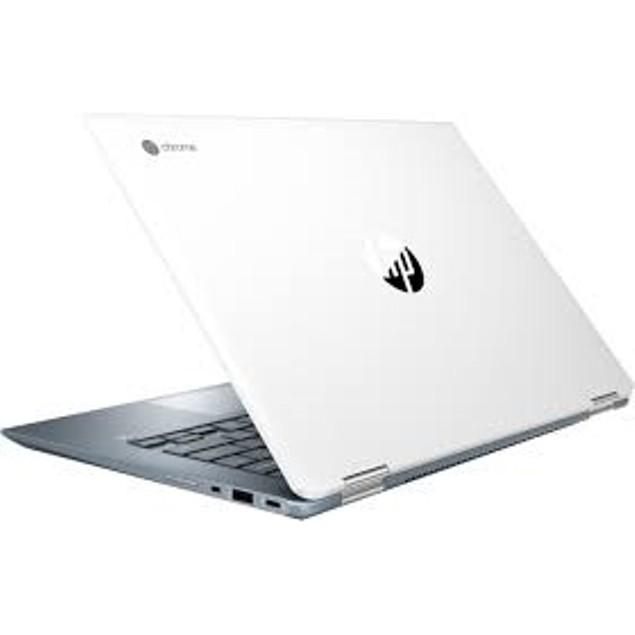 """HP Chromebook 7UL19UAR#ABA 14"""" 64GB Intel Core i3-8130U,White"""