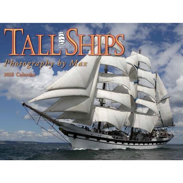 Tall Ships Wall Calendar, Boats by Calendars