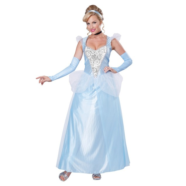 Classic Cinderella Womens Costume