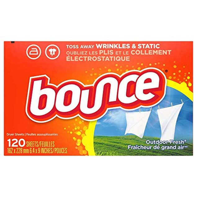 Bounce Fabric Softener Dryer Sheets for Static Control, Fresh Scent