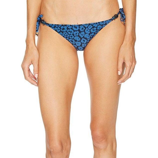 Stella McCartney Women's Leopard Tie Side Bikini Bottom SZ XS