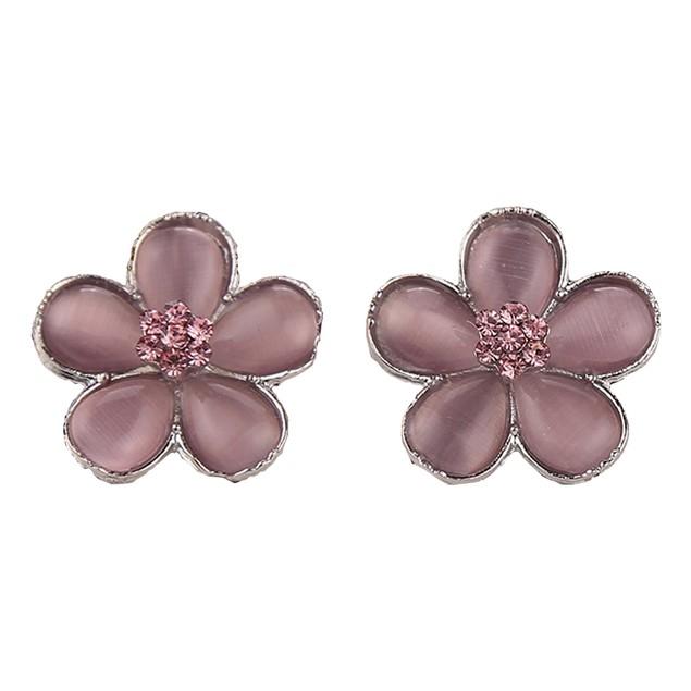Hermione Granger Pink Flower Earrings (Pair)