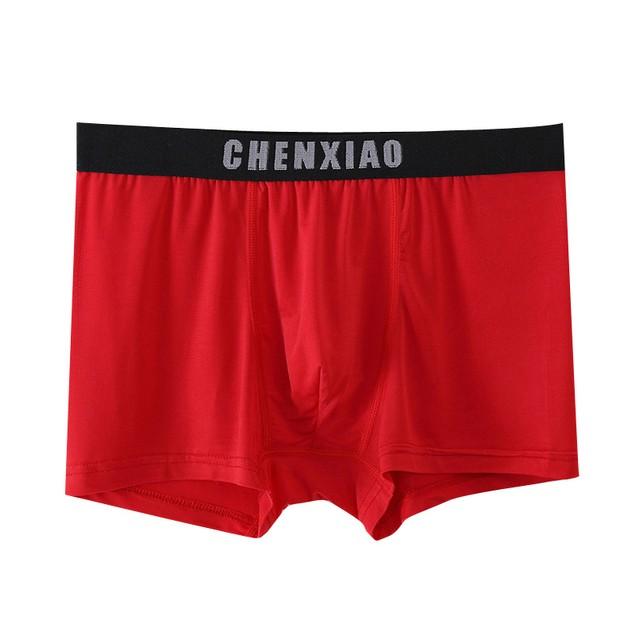 5Pcs Men's Breathable Sweat-Absorbent Boxer Shorts