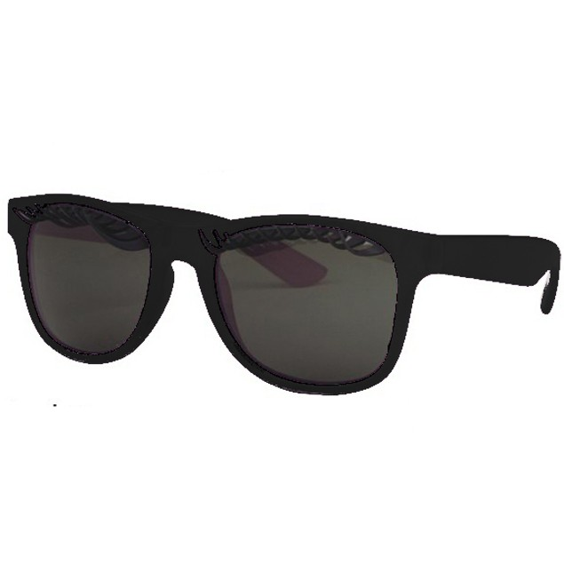 Eyelash Sunglasses With Black Frames Cute Novelty Party Fun Accessory Adult