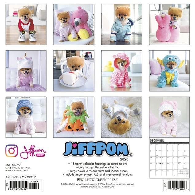 Jiff the Pomeranian Wall Calendar, Pomeranian by Calendars