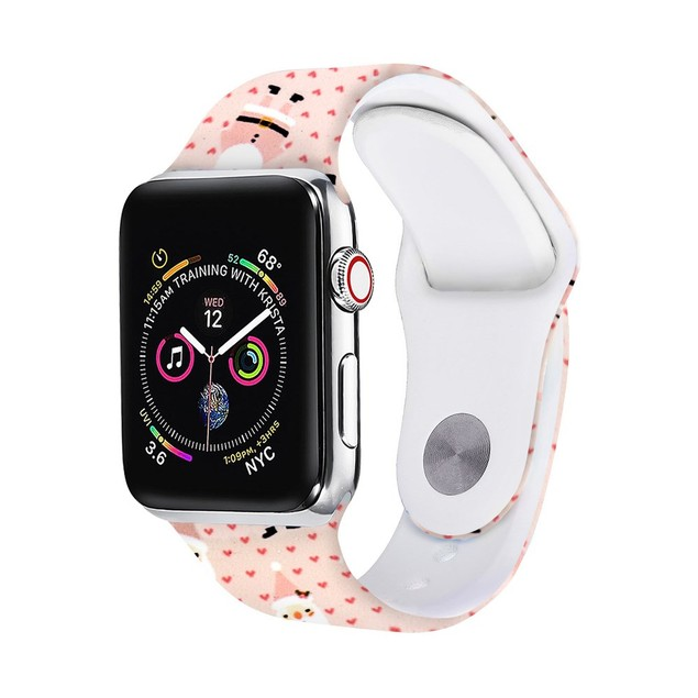 Christmas Silicone Apple Watch Bands - 10 Styles
