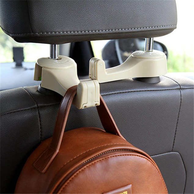 2 in 1 Car Back Seat Hanger Phone Holder