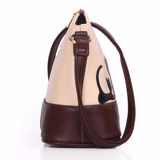 Women Leather Shoulder Bag Cross Body Purse Handbag Messenger