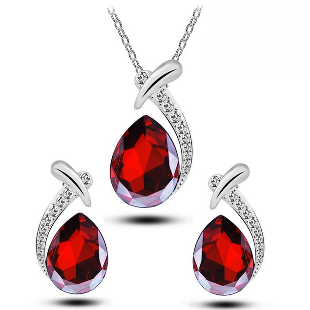 Scoop Teardrop Jewelry Set