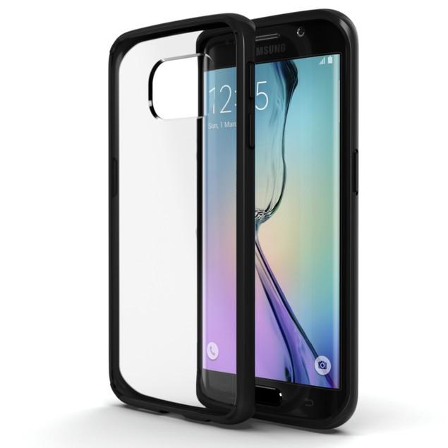Stalion Clear Back Hybrid Fusion Bumper Case for Samsung Galaxy S6 Edge