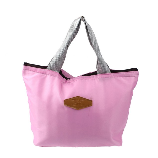 Waterproof Portable Insulated Lunch Bag - 4 Colors