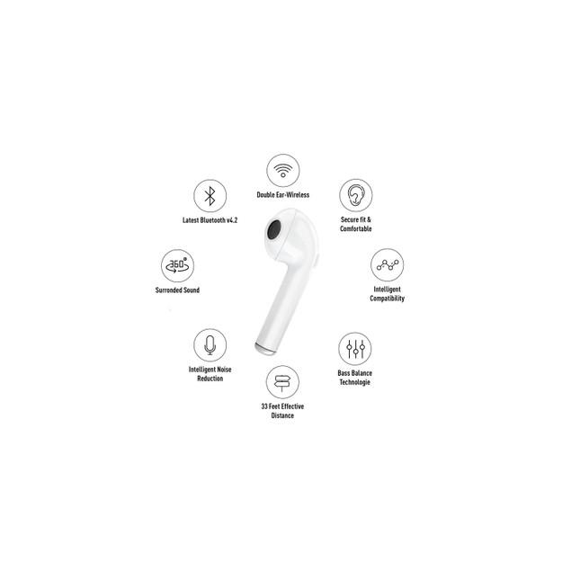 ZTECH Wireless Music Headphones - Metallic Colors
