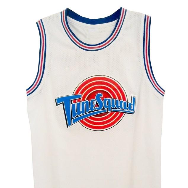 Taz #! Tune Squad White Basketball Jersey