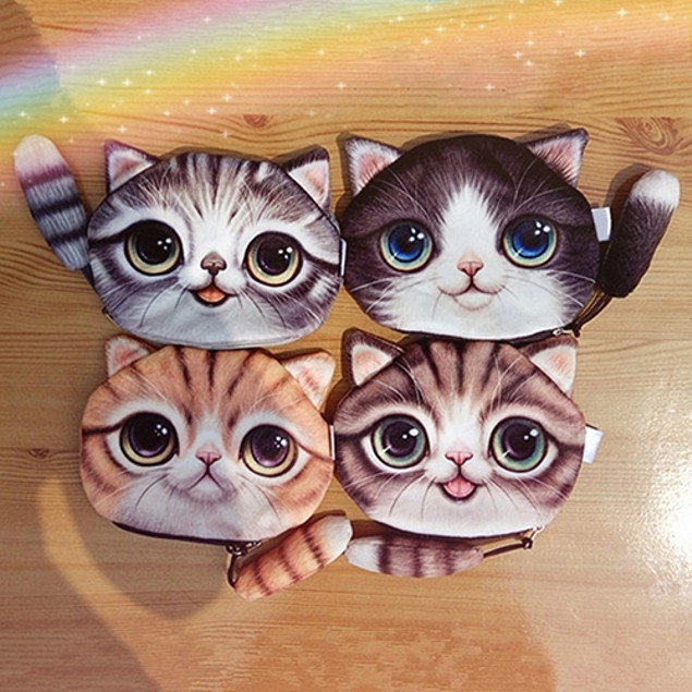 Cute Cat Kids Wallet