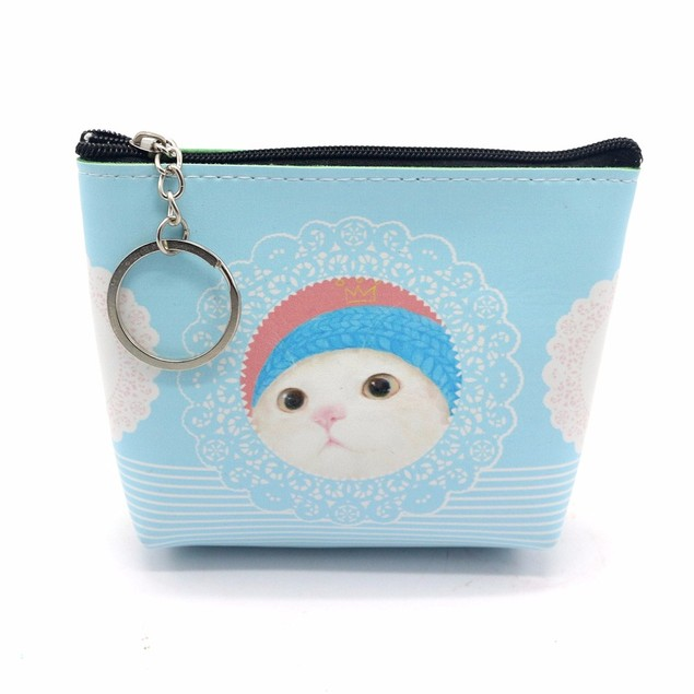 Women Girls Lady Leather Small Wallet Coin Purse Clutch Bag