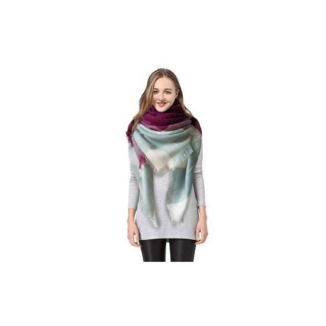 Women's Over-Sized Blanket Scarf