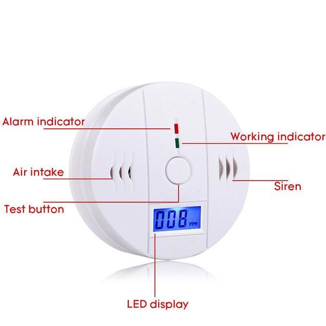 Carbon Monoxide Alarm Apparatus