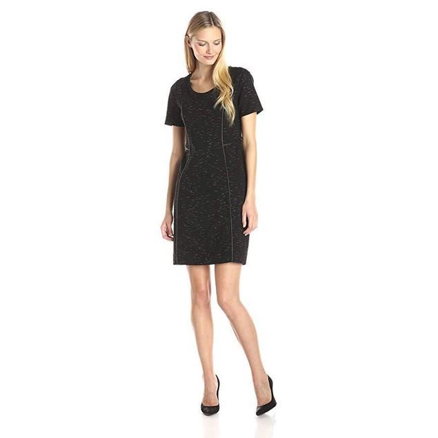 Lysse Women's Dacha Dress, Black Slub, Large
