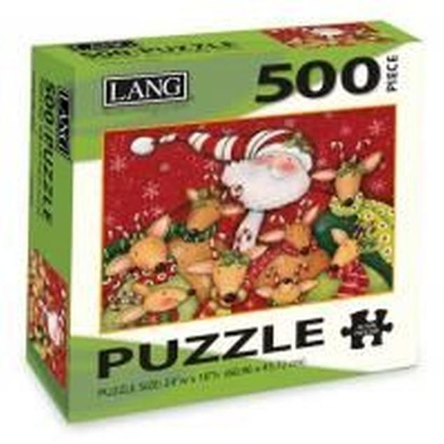Deer Friends 500 Piece Puzzle, 500 Piece Puzzle by Lang Companies