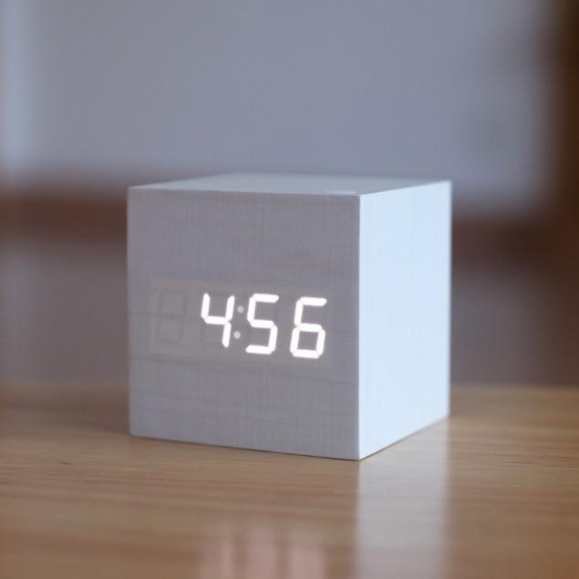 Wood Clock (Assorted Colors)