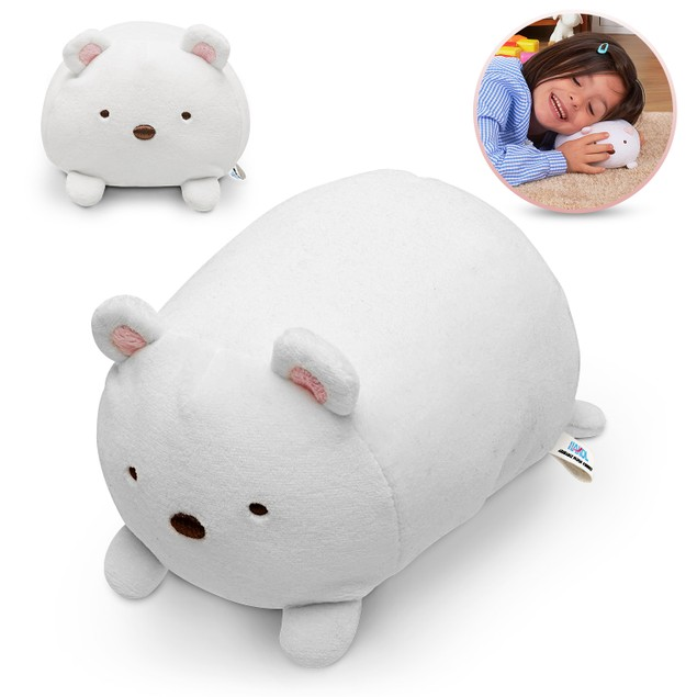 Plush Polar Bear Squishy Stuffed Toy | Super Soft, Smooth, Cuddly, Washable
