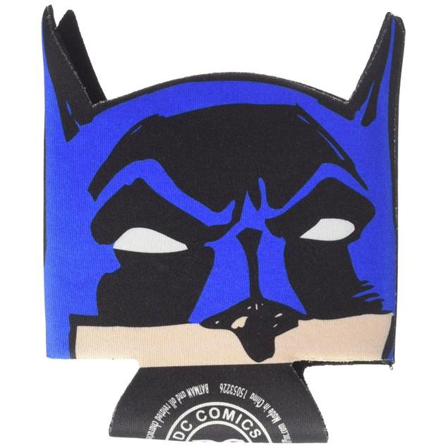 Batman Face Logo Can Cooler Hugger Caped Crusader DC Comics