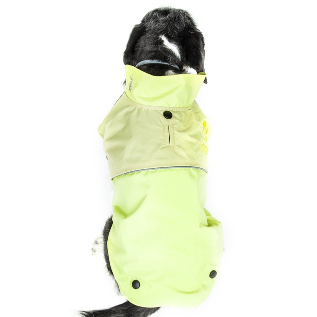Touchdog Lightening-Shield Waterproof 2-in-1 Convertible Dog Jacket