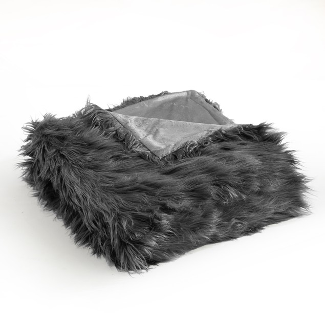 Chic Home Lariah New Faux Fur Collection Throw Blanket