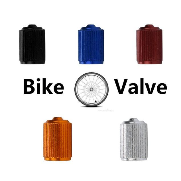 Bike Aluminum alloy Truck wheel Tire Valve Stem Caps@2