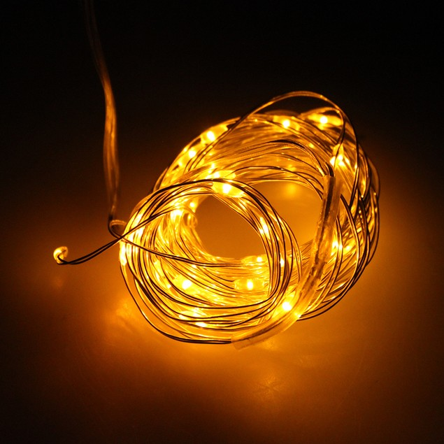 Wire Starry Light -AA Battery Operated LED waterproof LED