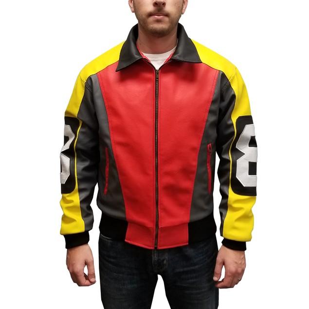 David Puddy 8 Ball Bomber Jacket