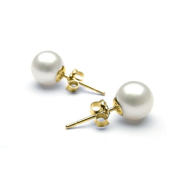 4.00 CTTW Cultured Pearl in 18K Gold