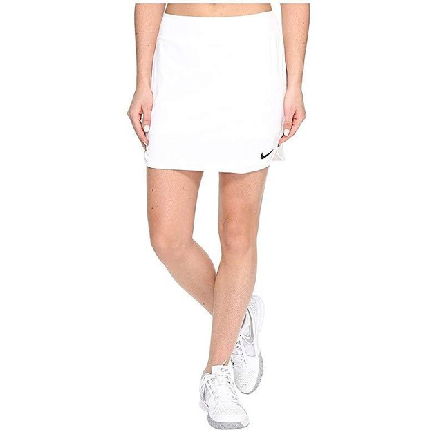 "Nike Women's Pure Tall 14"" Tennis Skirt  Sz: Medium, White/Black"