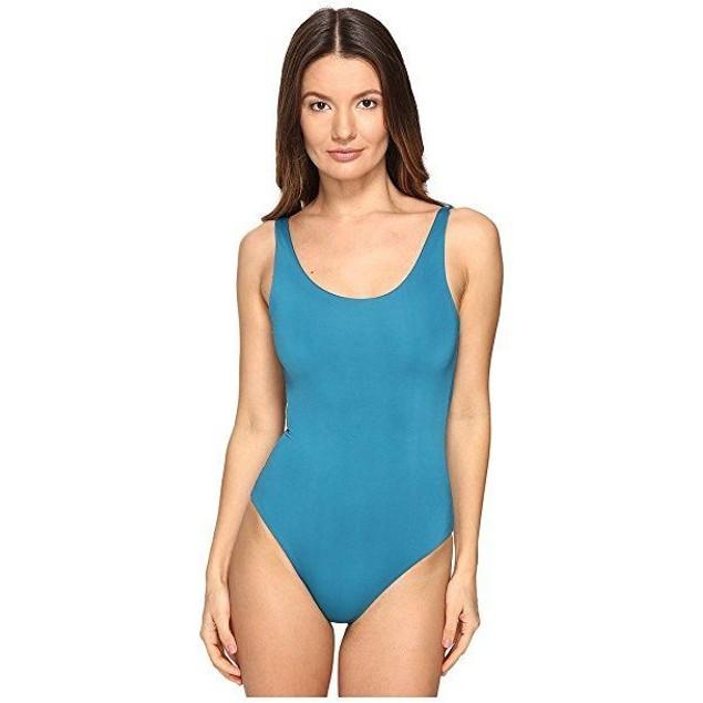 onia Women's Kelly Dark Teal Swimsuit  SZ: L