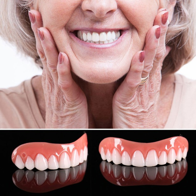 Instant Smile Comfort Fit Teeth Top Cosmetic Veneer One Size Fits All