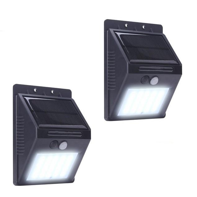 20 LED Solar Power PIR Motion Sensor Wall Light Outdoor Garden Lamp