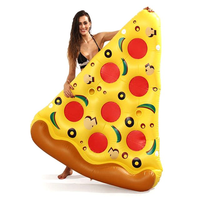 Giant Pizza Slice Inflatable Mattress - Summer 2018