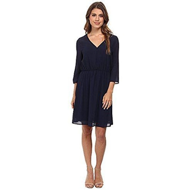 Brigitte Bailey Women's Monica Dress Navy MD