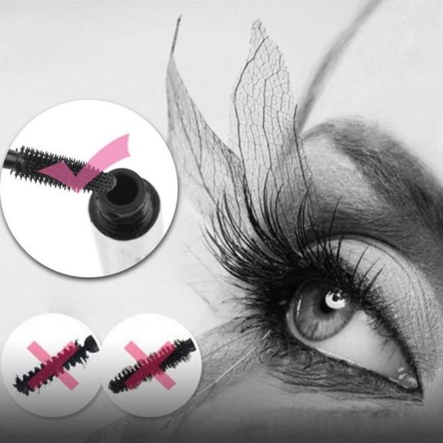 Waterproof Black Silicone Brush Head Mascara