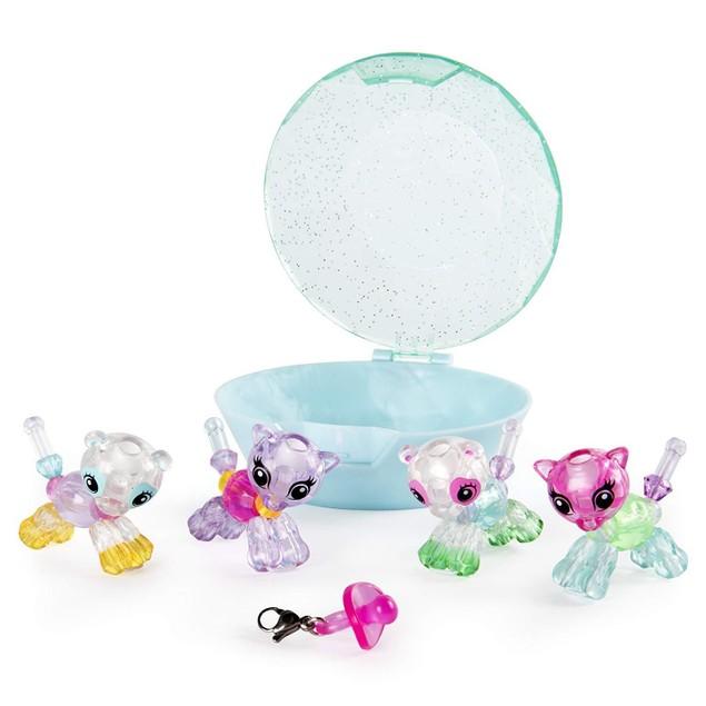 Twisty Petz 4-Pack Unicorns And Pandas Collectible Bracelet Set