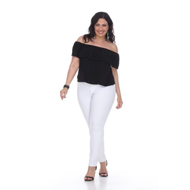 White Mark Universal Plus Size Super Stretch Denim Jeans