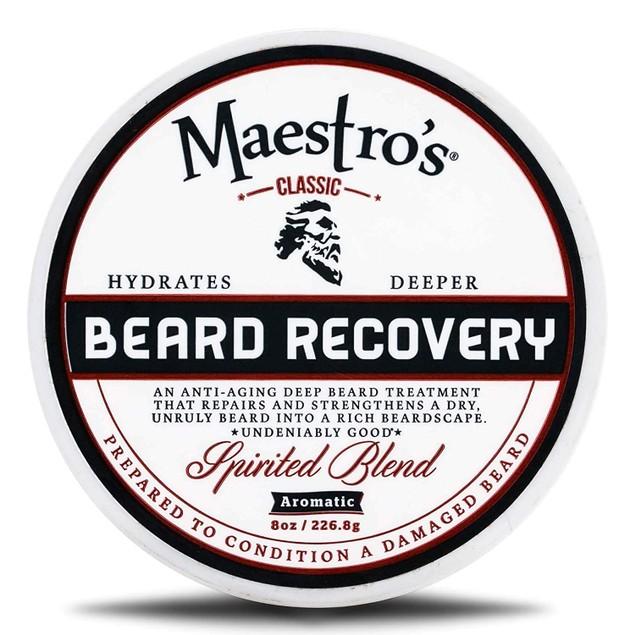 Maestro's Classic Spirited Blend Deep Conditioning Beard Treatment, 8 Ounce