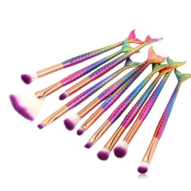 15PCS Make Up Foundation  Blush Cosmetic Concealer Brushes 174