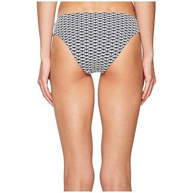 onia Women's Lily Two-Tone Diamond Swimsuit Bottoms Sz: M