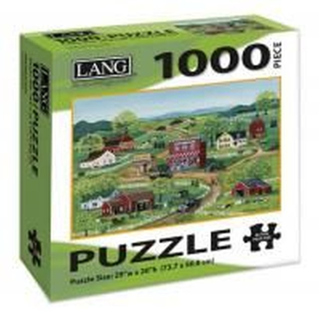 General Store 1000 Piece Puzzle, 1,000 Piece Puzzles by Lang Companies