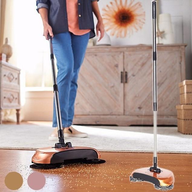 Easy Edge Lightweight Hardwood Floor Sweeper Tanga