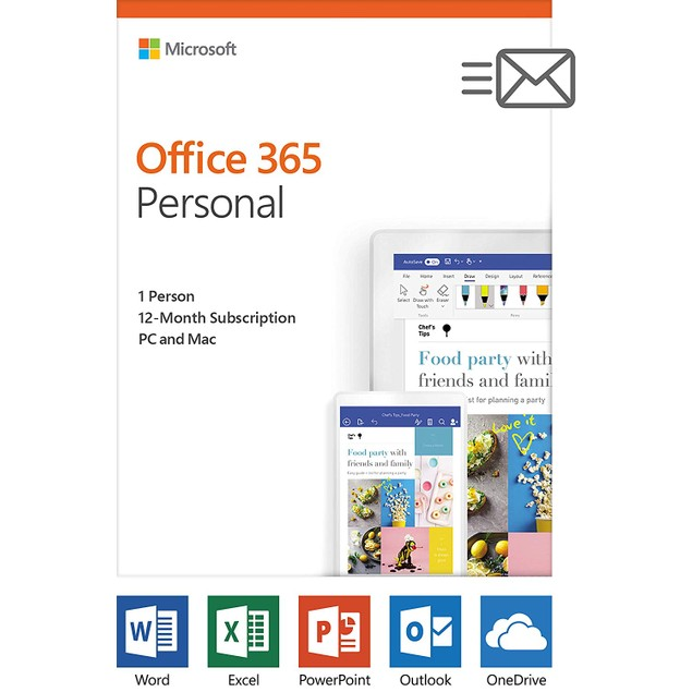 Microsoft Office 365 Personal - PC/Mac