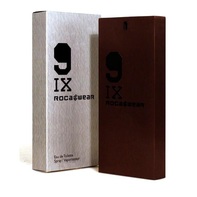 Rocawear 91X Eau de Toilette Spray Natural Cologne for Men, 0.5 Fl.Oz.